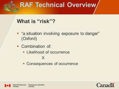 RAF Technical Overview