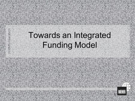 1 Towards an Integrated Funding Model. 2 Challenges to be addressed n Persisting low basic incomes of people with disabilities n Significant income difference.