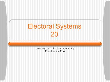 electoral systems in democratic nations Democratic electoral systems around the world eventual recoding of these countries as democratic2 proportional electoral systems are quota- or divisor.