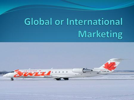 International marketing or global marketing refers to marketing carried out by companies overseas or across national borderlines. This strategy uses an.