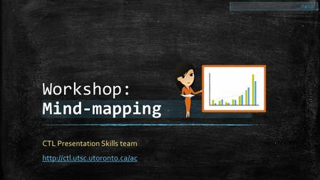 Workshop: Mind-mapping CTL Presentation Skills team  …hello!