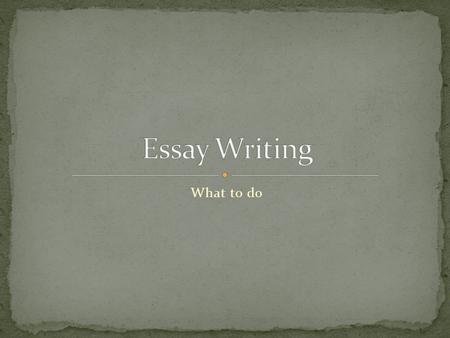 Have you ever skimmed through a book and then tried writing an essay on it?