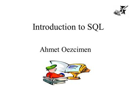 Introduction to SQL Ahmet Oezcimen. Agenda 1. What is SQL? 2. SQL data types 3. Statement categories in SQL 4. Data modelling example 5. CREATE & DROP.