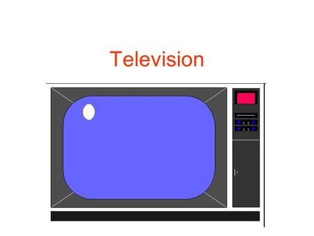 Television. A media that has changed societies It has changed private and public life Change in identity Power of pictures Synergy pictures + text Convincing.