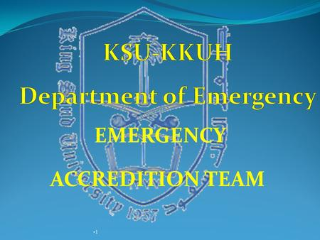 1 1 EMERGENCY ACCREDITION TEAM. TRAINING and ORIENTATION Did you receive any training of the following : BLS and Other life support. fire and safety.