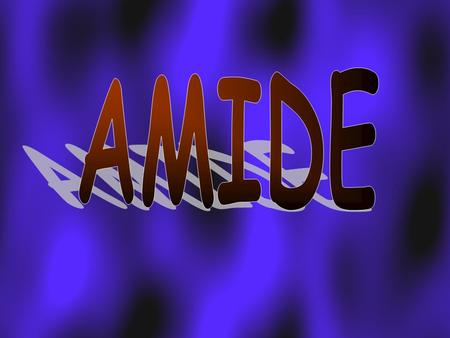 Amides are produced by reacting a carboxylic acid with ammonia or an amine.