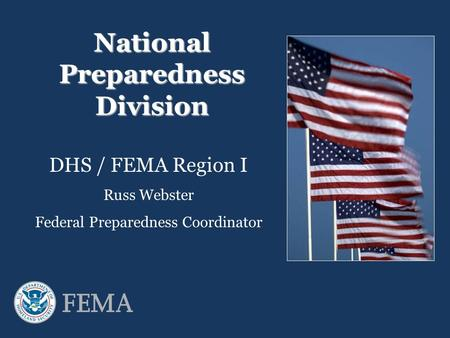 National Preparedness Division