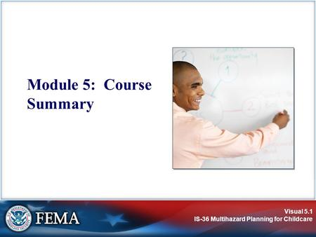 Module 5: Course Summary