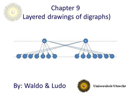 Chapter 9 (Layered drawings of digraphs) By: Waldo & Ludo uv.