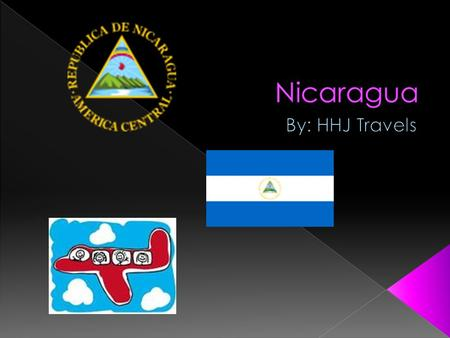 Nicaragua is 12 degrees north, 86 degrees west Central America, bordering both the Caribbean Sea and the North Pacific Ocean, between Costa Rica and Honduras.