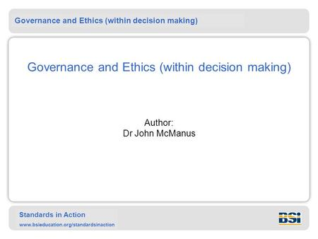ethical conduct financial decision making How to prevent poor ethical decision-making and the chief financial officer of the seattle public 2009) ethics and the conduct of.