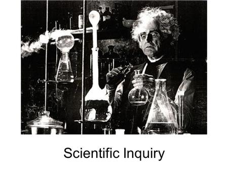 Scientific Inquiry.