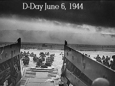 Topic overview 1.The planning phase and build-up 2.D Day,the securing of the beachhead and the break-out from Normandy.