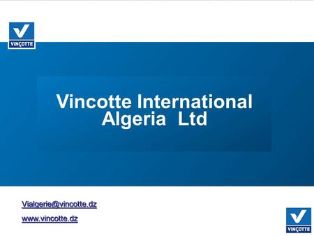 Vincotte International Algeria Ltd.
