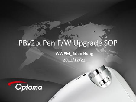PBv2.x Pen F/W Upgrade SOP