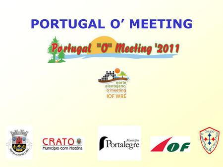 PORTUGAL O' MEETING. Agenda What is Orienteering? Orienteering Disciplines History of POM Event Programme Technical Information.