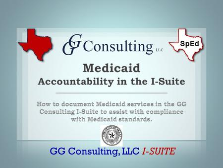 GG Consulting, LLC I-SUITE. Source: TEA SHARS Frequently asked questions 2.