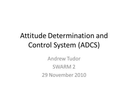 spacecraft attitude determination and control - photo #44