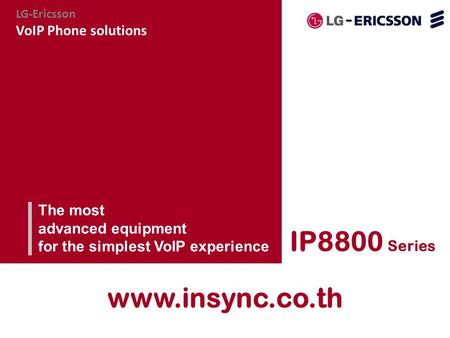 IP8800 Series  VoIP Phone solutions The most