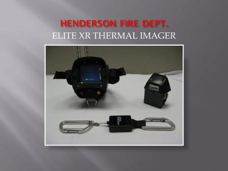 ELITE XR THERMAL IMAGER