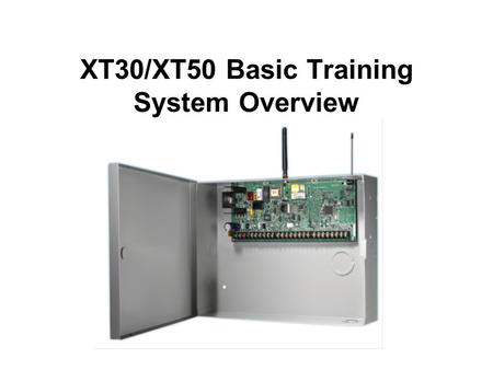 XT30/XT50 Basic Training System Overview. How will this help you?