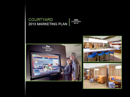 COURTYARD 2013 MARKETING PLAN. OVERVIEW POSITIONING CORE MESSAGE TARGET DISTRIBUTION AND GROWTH BUDGET 2013 COURTYARD GLOBAL SUMMARY  Largest global.
