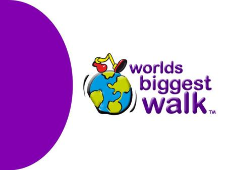 Who The World's Biggest Walk concept was presented at the 2007 World Transplant Games in Bangkok by Sophie Morell to the team mangers for representing.