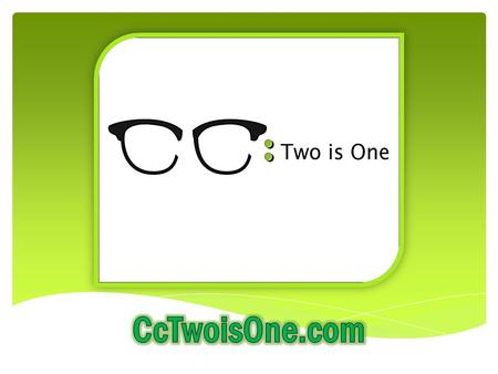 What is Cc:? Cc: is a unique, innovative new eyewear program that includes an Rxable sunglass frame with the purchase of a standard ophthalmic frame.