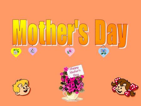 Mother's Day is a holiday celebrated in many countries around the world, but not all nations celebrate on the same day. In the United States, Mother's.