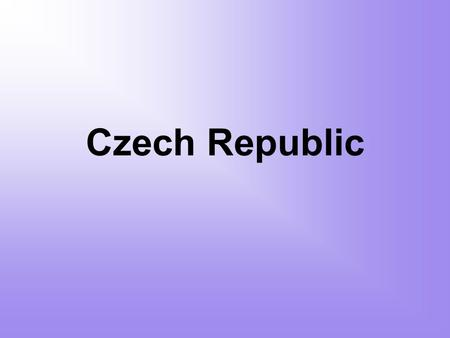 Czech Republic. Basic information Area: 78,867 km 2 Population: 10.5 mil Capital city: Prague Parts: Bohemia, Moravia and Silesia Language: Czech Minorities: