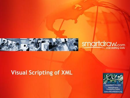 Visual Scripting of XML