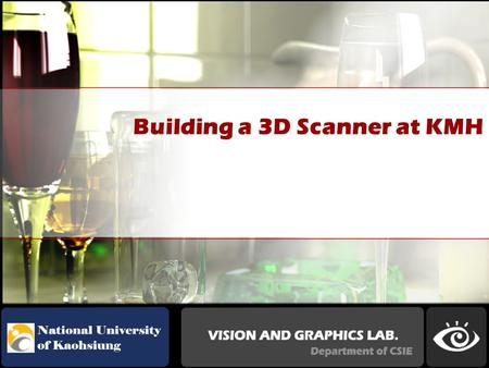Building a 3D Scanner at KMH. 2001.A Low Cost 3D Scanner Based on Structured Light.ROCCH.