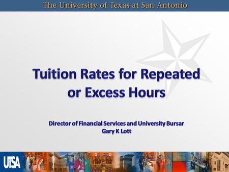 2 Texas Education Code – Sec. 61.0595   Funding For Certain Excess Undergraduate Credit Hours Texas Education Code – Sec 61.059   Appropriations (Doctoral.