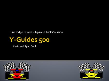 Blue Ridge Braves – Tips and Tricks Session Kevin and Ryan Cook.