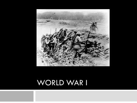 WORLD WAR I. 1. The Beginning a. By 1914 tensions in Europe had risen and many believed the continent was on the brink of war.