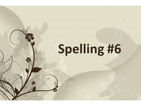 Free Powerpoint TemplatesPage 1Free Powerpoint Templates Spelling #6.