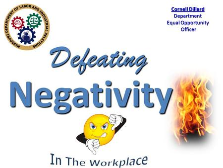 Negativity Cornell Dillard Department Equal Opportunity Officer Officer Defeating.
