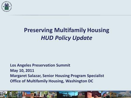 Preserving Multifamily Housing