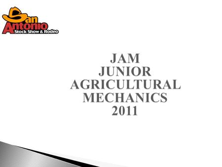 2011 JAM Project Show2  DIV 1 - Agricultural Machinery & Equipment  DIV 2 - Electrical Equipment  DIV 3 - Livestock Equipment  DIV 4 - Trailer  DIV.