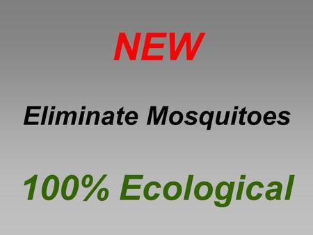 NEW Eliminate Mosquitoes 100% Ecological. Solar Energy 2L of Water +