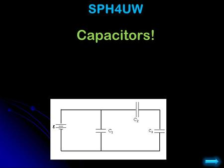 Capacitors! Physics 102: Lecture 4, Slide 1 SPH4UW.