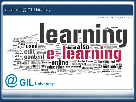 "What is e-learning? ""The term e-learning applies to the broad range of ways computing and communication technologies can be used for teaching and learning."""