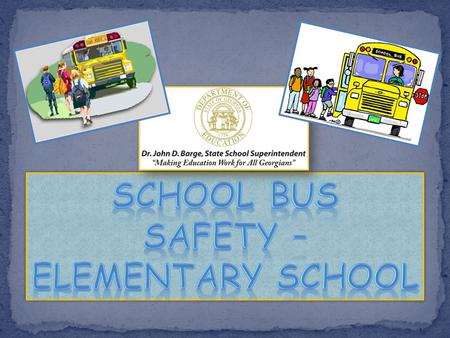 This unit will teach you about: School bus stop safety School bus danger zone Loading & unloading How to cross the road (if required) Loading and unloading.