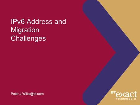 IPv6 Address and Migration Challenges