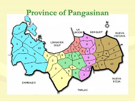 Province of Pangasinan. THE LOCAL GOVERNMENT CODE of1991 Republic Act 7160.