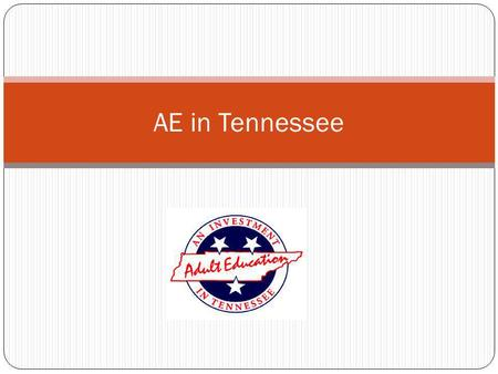 AE in Tennessee. Tennessee Leadership Funds Professional Development Activities Academy for Instructional Excellence (for Supervisors, Instructors, and.