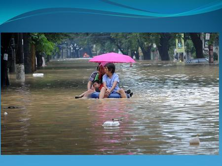 Flooding in Manila As a group of four, you need to work on: 1. The causes of the flood (physical and human 2. The effects of the flood (social, economic.