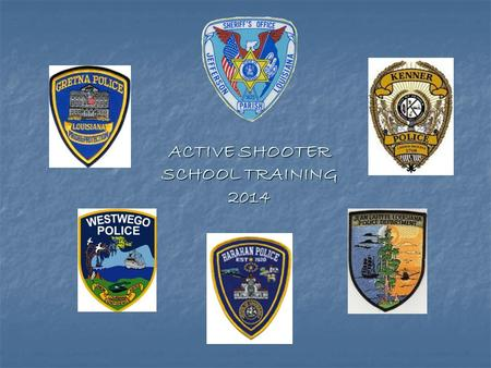 ACTIVE SHOOTER SCHOOL TRAINING 2014 Fog of Terror Chaos Fear.