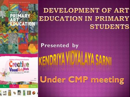 DEVELOPMENT OF ART EDUCATION IN PRIMARY STUDENTS.