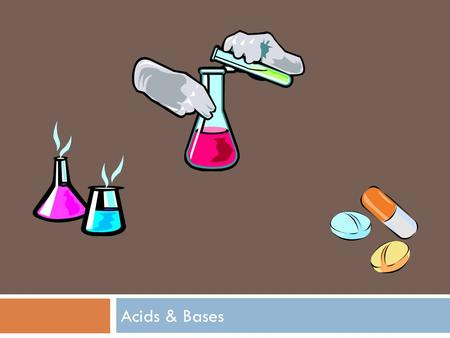 Acids & Bases. Key Characteristics of Acids & Bases Acids Taste sour Reacts with alkali metals (forms H2 gas) Litmus paper: RedNeutralizes Bases Bases.